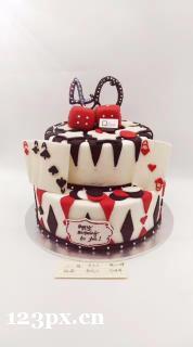 生日翻糖蛋糕培训