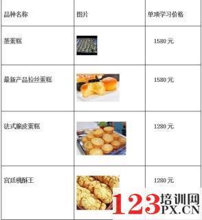 郑州培训蛋糕的地方
