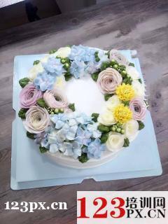 哪里培训蛋糕裱花