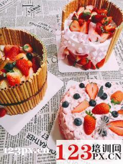 兰州蛋糕烘焙培训机构